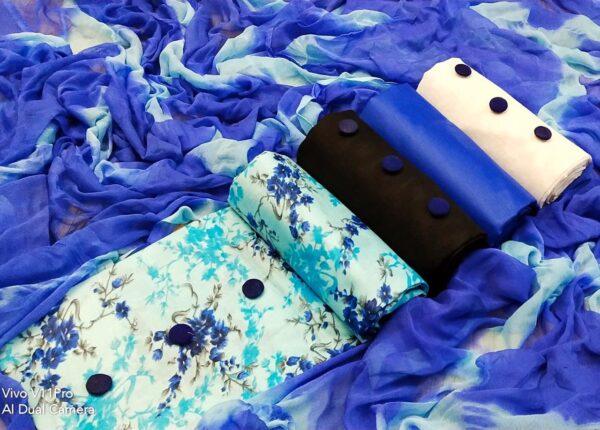 Marvellous 3 Top Cotton Printed Salwar Suit