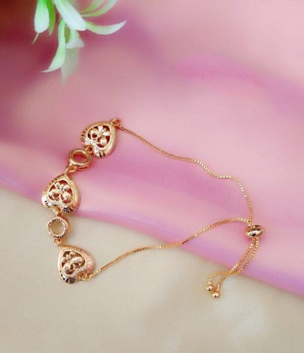 Marvellous Golden Colored Imitation Bracelet