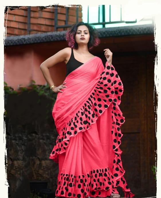 Sensational Pink Color Designer Vichitra Soft Silk Fancy Embroidered Wedding Wear Saree Blouse
